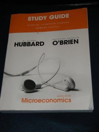 9780138132804: Microeconomics - Study Guide