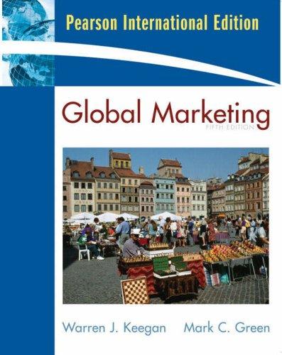 Global Marketing (International Edition): Warren J. Keegan