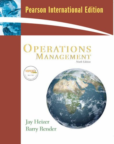 9780138134549: Operations Management