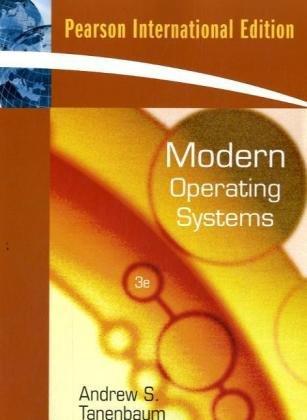 9780138134594: Modern Operating Systems: International Edition