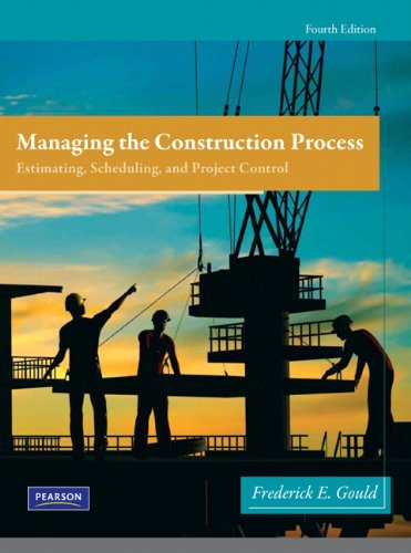 9780138135966: Managing the Construction Process (4th Edition)
