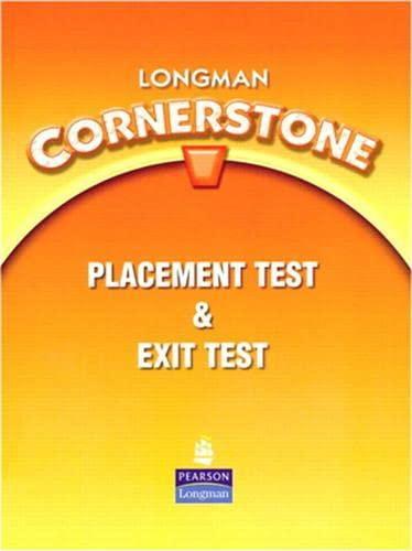 9780138136666: Longman Cornerstone Placement Test