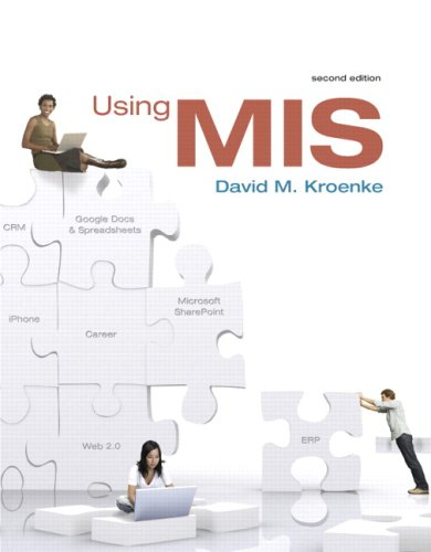 9780138139193: Using MIS, (SVE) Value Pack (includes Microsoft Office Excel 2007 in Business and Access 2007 in Business w/ Student Resource CDs)