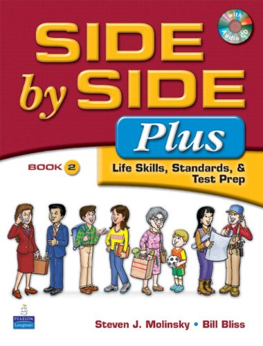9780138140243: Value Pack: Side by Side Plus 2 with Word by Word Picture Dictionary (with WordSongs Music CD) and Activity & Test Prep Workbook 2 (with Audio CDs) (3rd Edition)