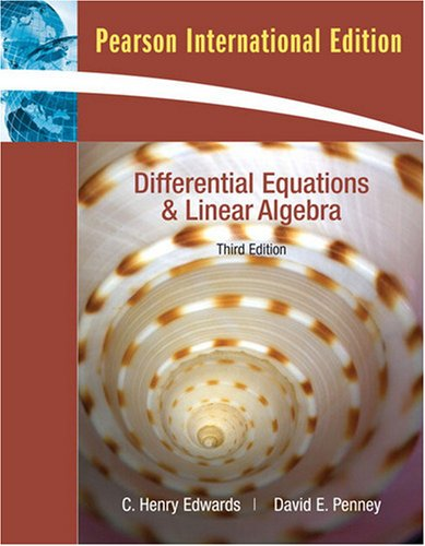 9780138141028: Differential Equations and Linear Algebra