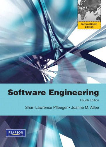 9780138141813: Software Engineering: Theory and Practice: International Edition