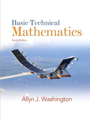 9780138142254: Basic Technical Mathematics (9th Edition)