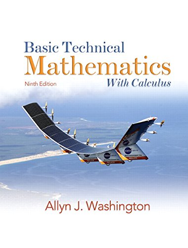 9780138142261: Basic Technical Mathematics with Calculus (9th Edition)