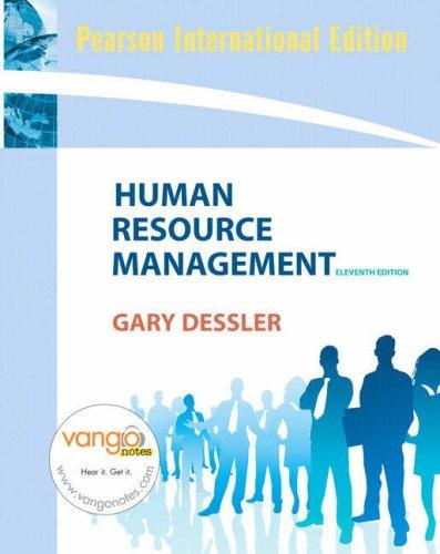 9780138142735: Human Resource Management