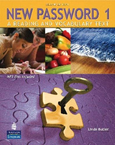 9780138143435: New Password 1: A Reading and Vocabulary Text (with MP3 Audio CD-ROM)