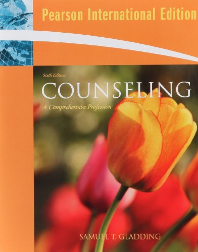 9780138144258: Counseling: A Comprehensive Profession: International Edition