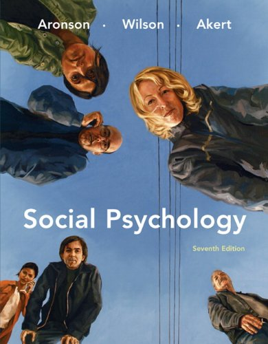 9780138144784: Social Psychology (7th Edition)