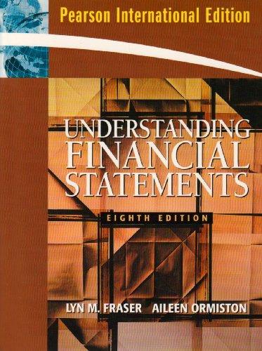 9780138145385: Understanding Financial Statements: International Edition