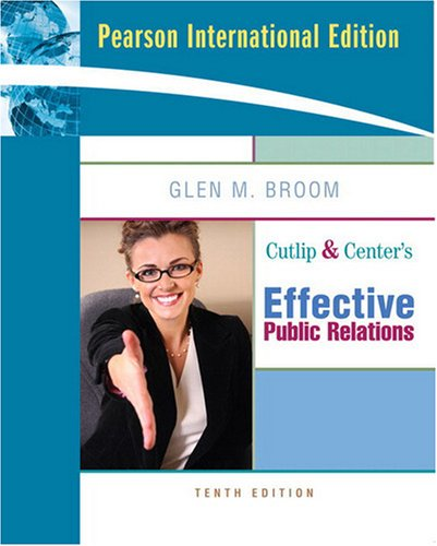 9780138145668: Cutlip and Center's Effective Public Relations