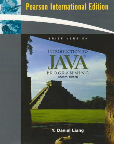 9780138146269: Introduction to Java Programming, Brief Version: International Version