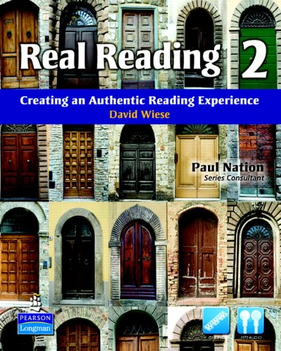 Real Reading 2: Creating an Authentic Reading: David Wiese