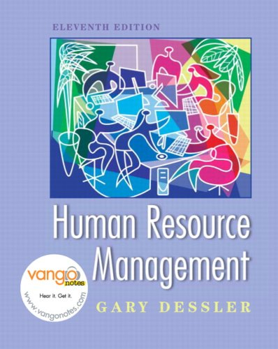9780138146528: Human Resource Management Value Pack (Includes Prentice Hall Guide to Research Navigator & Vangonotes Access)