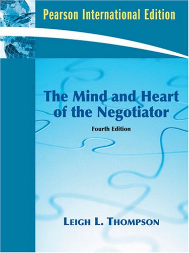 9780138146566: The Mind and Heart of the Negotiator