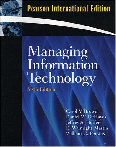 9780138146610: Managing Information Technology