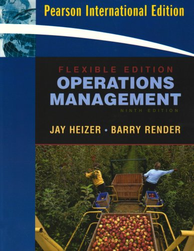 9780138148362: Operations Management. Jay Heizer, Barry Render