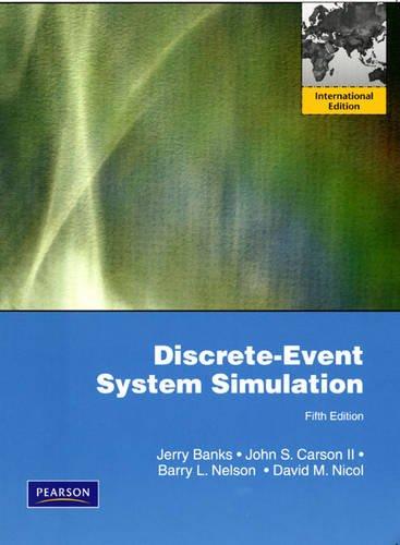 9780138150372: Discrete-Event System Simulation: International Edition