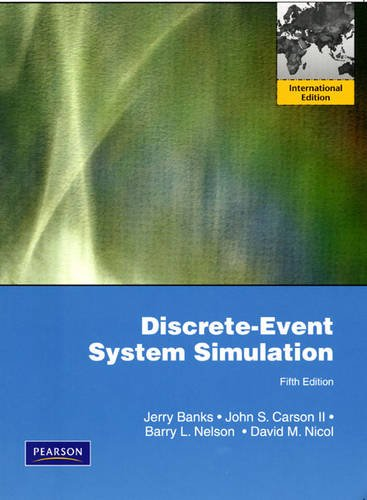 Discrete-Event System Simulation: International Edition: Banks, Jerry and