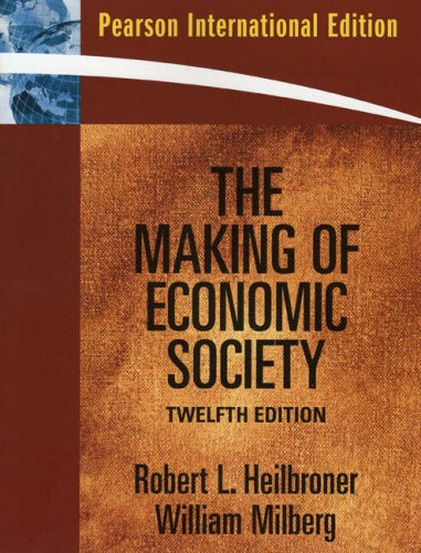 9780138151140: The Making of Economic Society