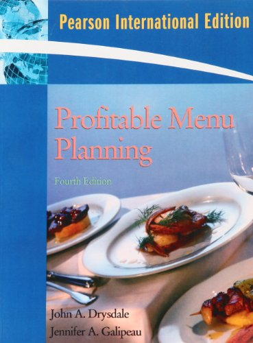 9780138151737: Profitable Menu Planning