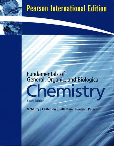 9780138152284: Fundament General Organic and Biolog Chem