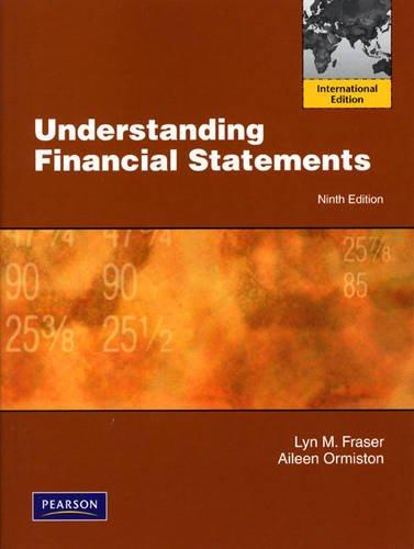 9780138153274: Understanding Financial Statements