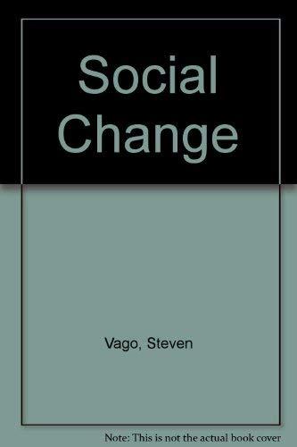 9780138155070: Social Change
