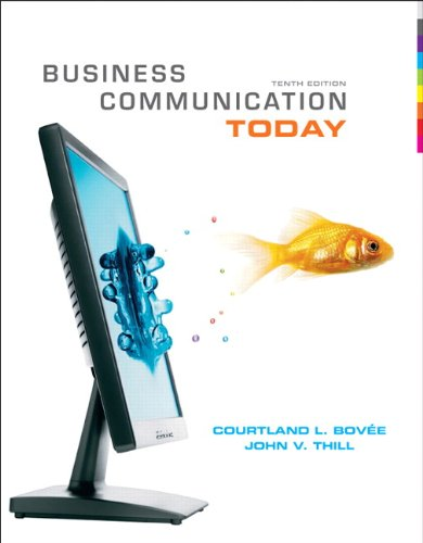 9780138155391: Business Communication Today (10th Edition)