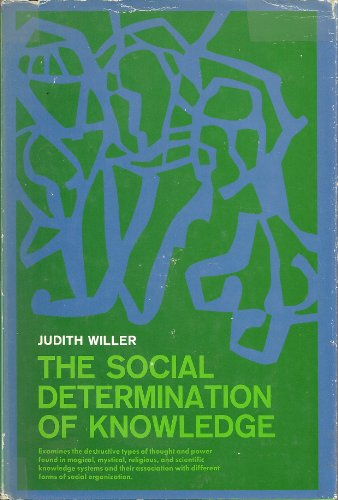 9780138155636: Social Determination of Knowledge