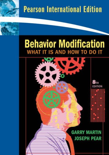 9780138155810: Behavior Modification: What It Is and How to Do It (International Edition)