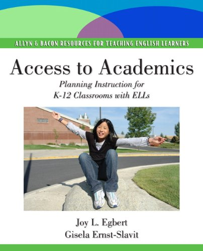 9780138156763: Access to Academics: Planning Instruction for K-12 Classrooms with ELLs (Pearson Resources for Teaching English Learners)