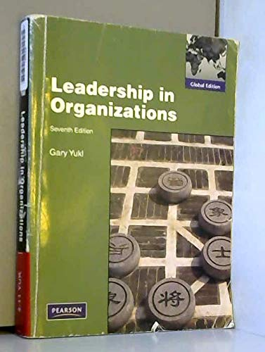 9780138157142: Leadership in Organizations:Global Edition