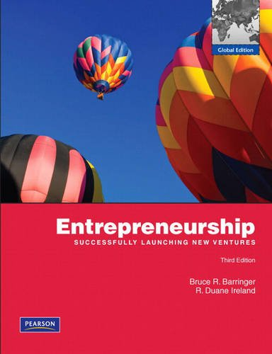 9780138158088: Entrepreneurship: Successfully Launching New Ventures (3rd Edition)