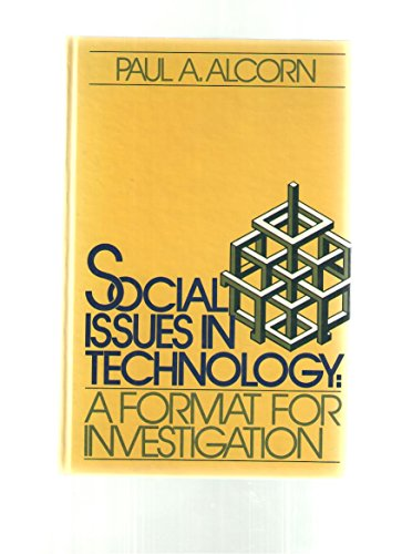 9780138159290: Social Issues in Technology: A Format for Investigation