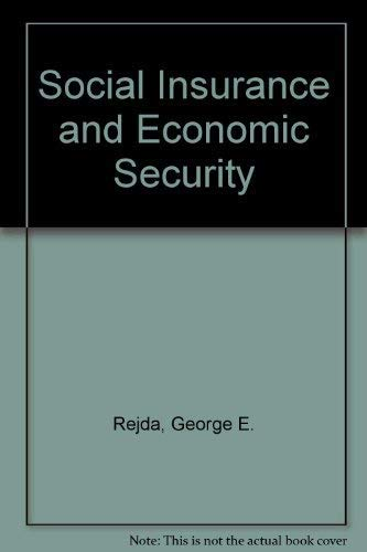 9780138159863: Social Insurance and Economic Security