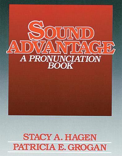 9780138161903: Sound Advantage: A Pronunciation Book