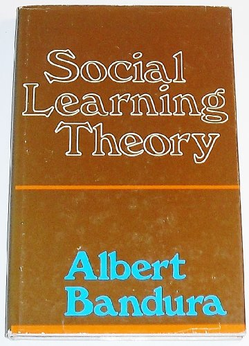 9780138167516: Social Learning Theory (Prentice-Hall series in social learning theory)
