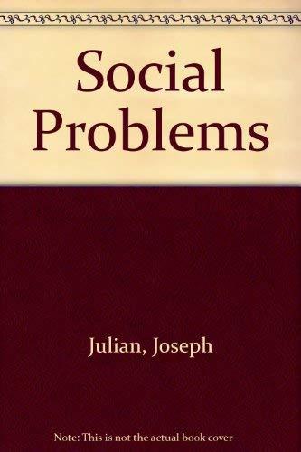 Social Problems: William Kornblum; Joseph