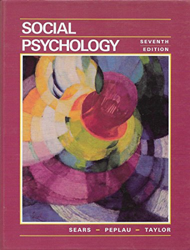 9780138170813: Social Psychology