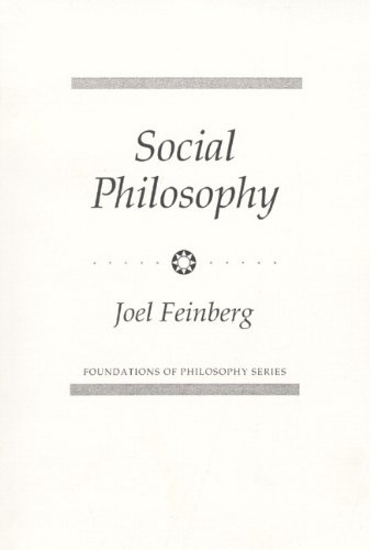 9780138172541: Social Philosophy (Foundations of Philosophy)