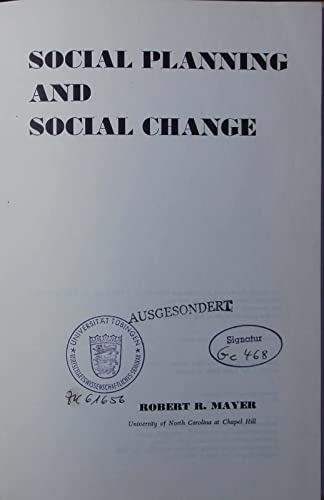 9780138172886: Social Planning and Social Change (Social science foundations of social welfare series)