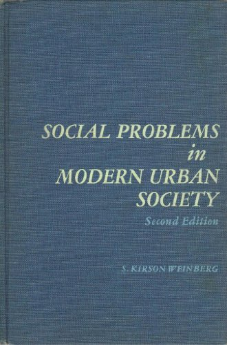 9780138175283: Social Problems in Modern Urban Society (Prentice-Hall sociology series)