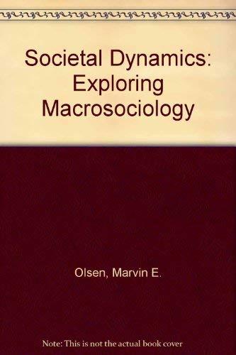 9780138175863: Societal Dynamics: Exploring Macrosociology