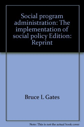 9780138177676: Social program administration: The implementation of social policy