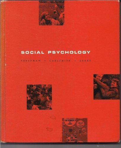 9780138180393: Social Psychology