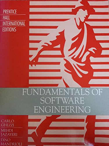 9780138182045: Fundamentals of Software Engineering